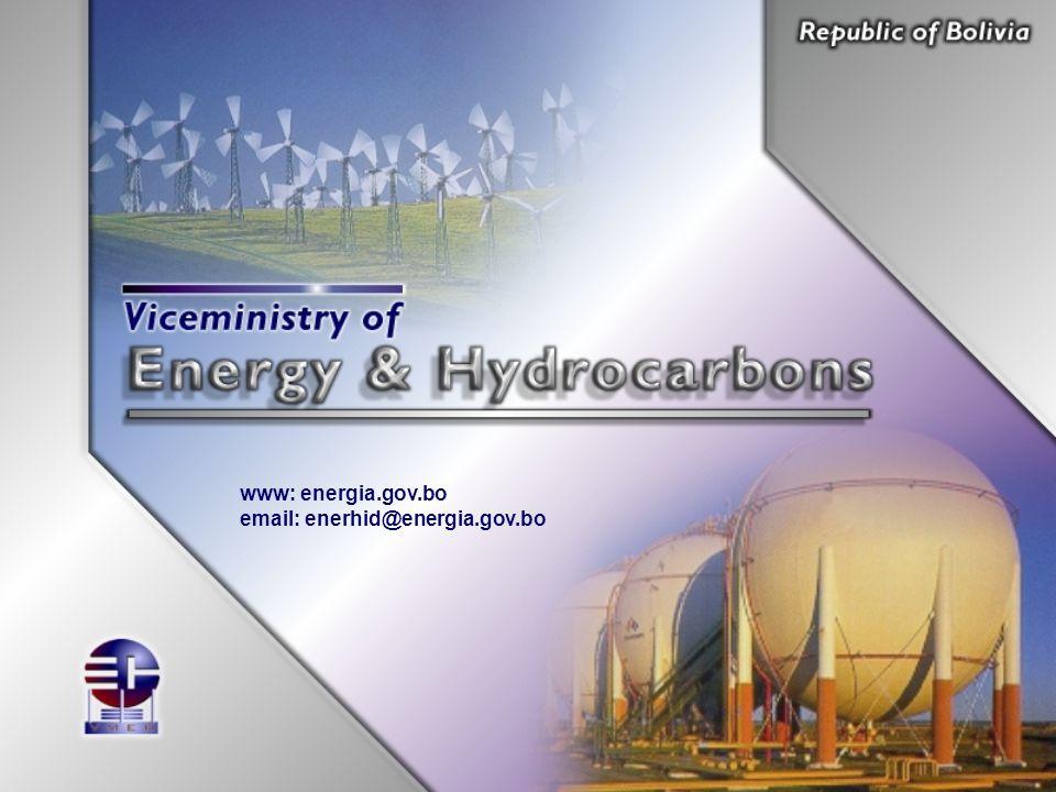 www: energia.gov.bo email: enerhid@energia.gov.bo