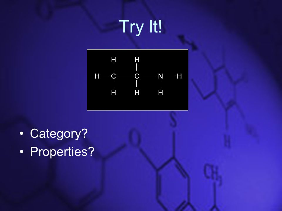 Try It! Category Properties CCN HH HH HHH
