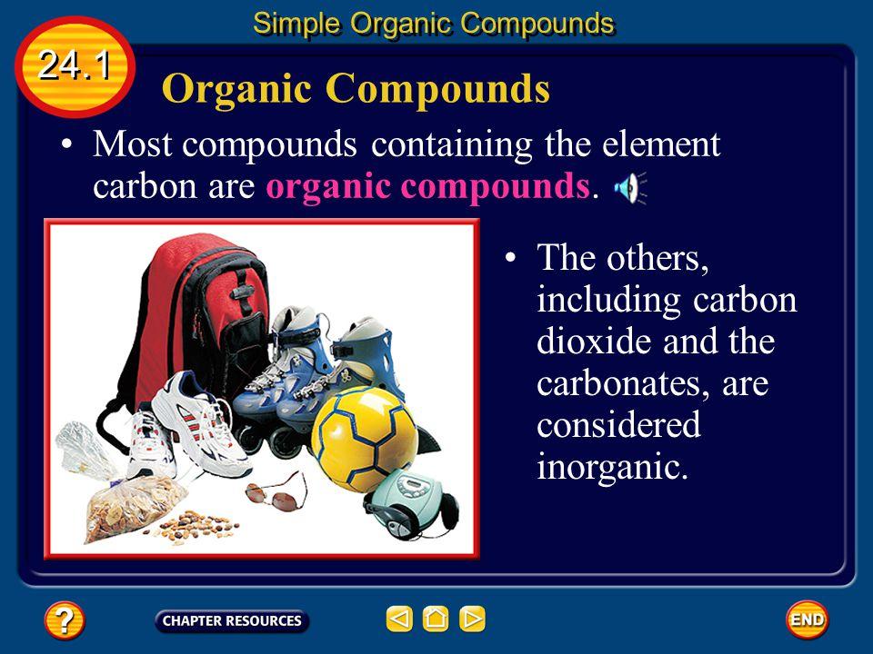 24.3 Petroleum — A Source of Carbon Compounds Petroleum is a mixture of thousands of carbon compounds.