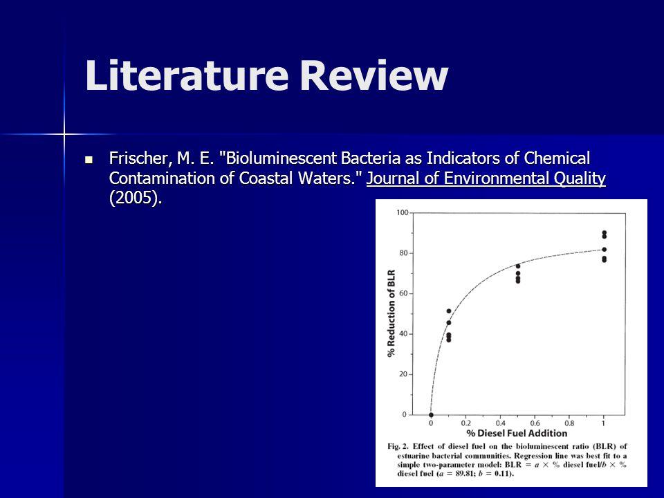 Literature Review Frischer, M.E.