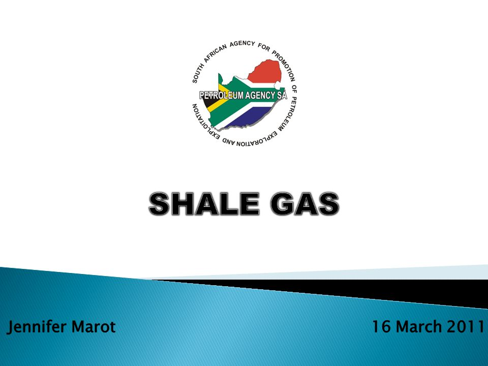 1.What is shale gas.2.What is good about shale gas.