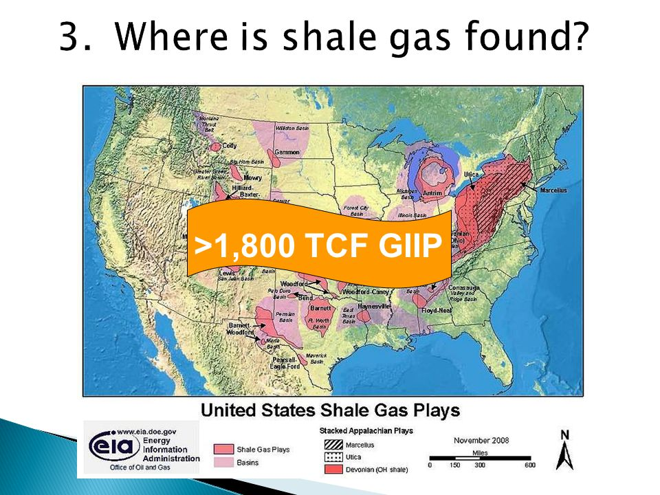World shale gas exploration in 2008 2010