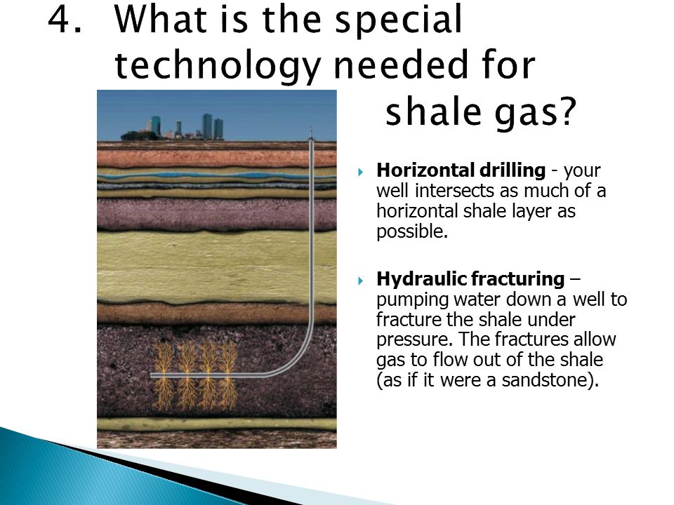  Shale gas is hydrocarbon gas that is recovered from shale with the use of recently developed technology.