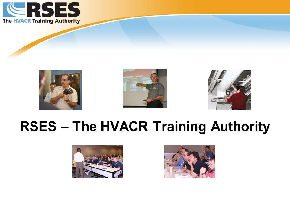 RSES – The HVACR Training Authority