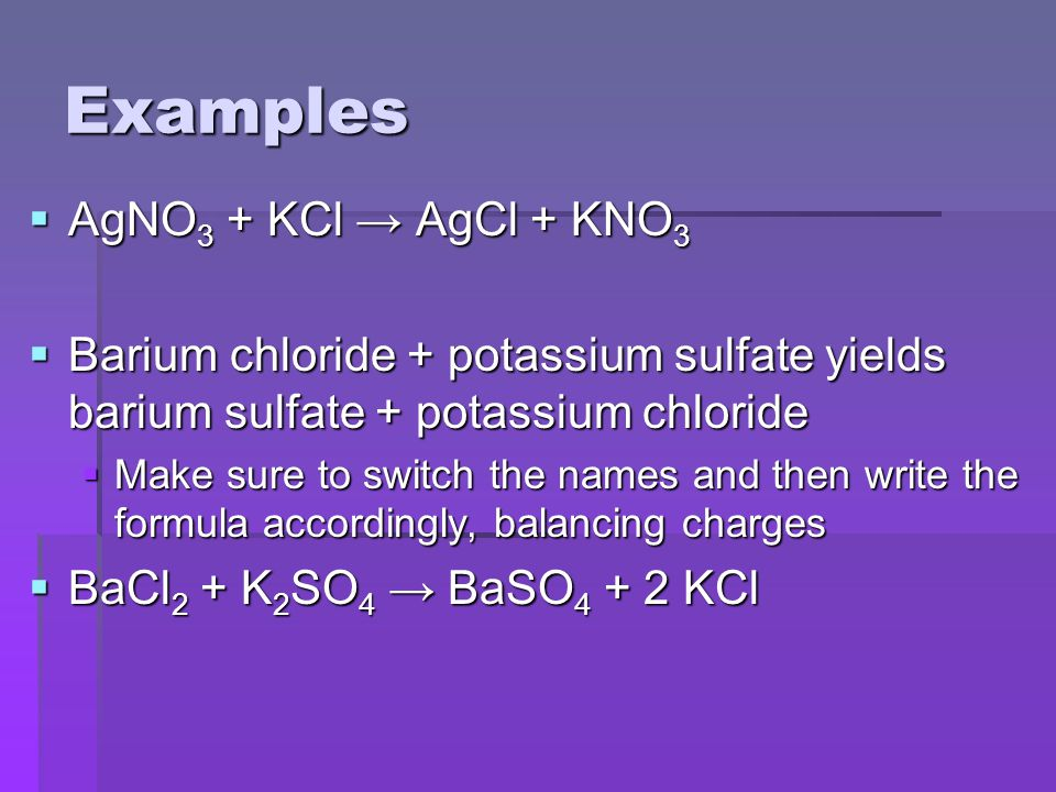 (Acid-Base) Neutralization  Special double displacement reaction  Acids: compounds that begin with hydrogen  Bases: compounds that end with hydroxide  Acid + hydroxide compound → Salt (ionic compound) + H 2 O