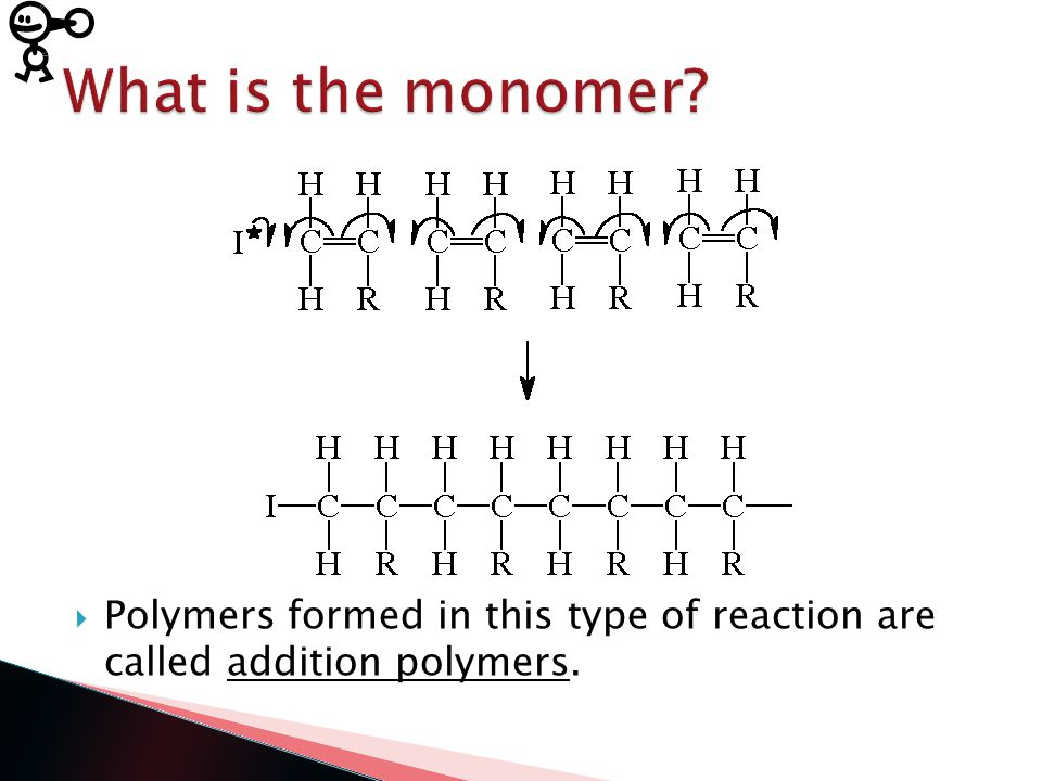  Polymer: large molecule typically composed of 500 – 20,000 or more repeating units  These repeating units are called monomers.