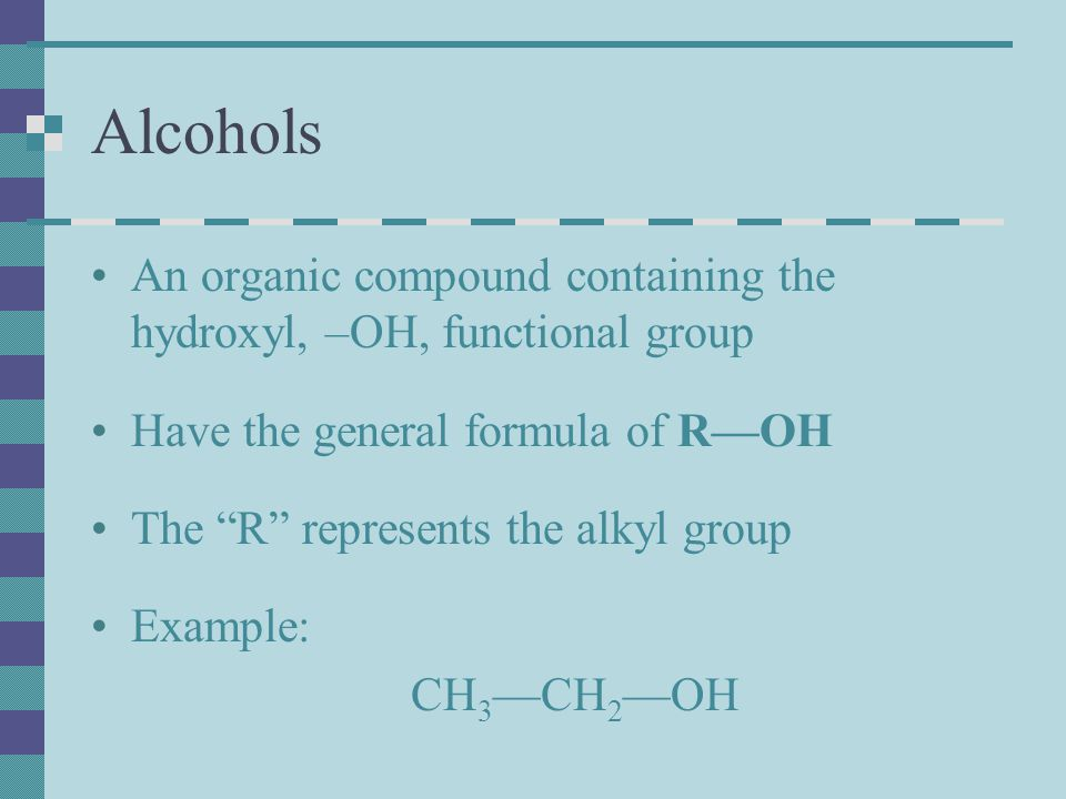 Aldehyde Contain a carbonyl functional group C=O Has the general formula R-CHO Have characteristic scents and tastes Example – Cinnamon or Formaldehyde