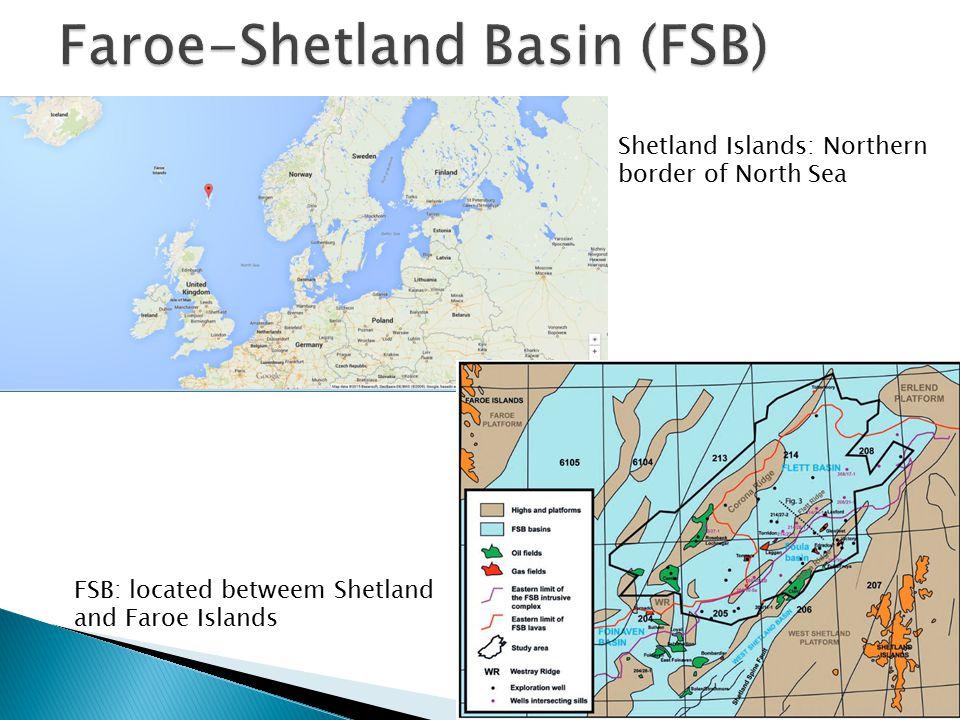 Shetland Islands: Northern border of North Sea FSB: located betweem Shetland and Faroe Islands