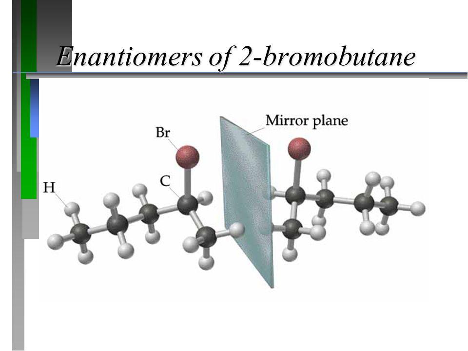 Enantiomers of 2-bromobutane