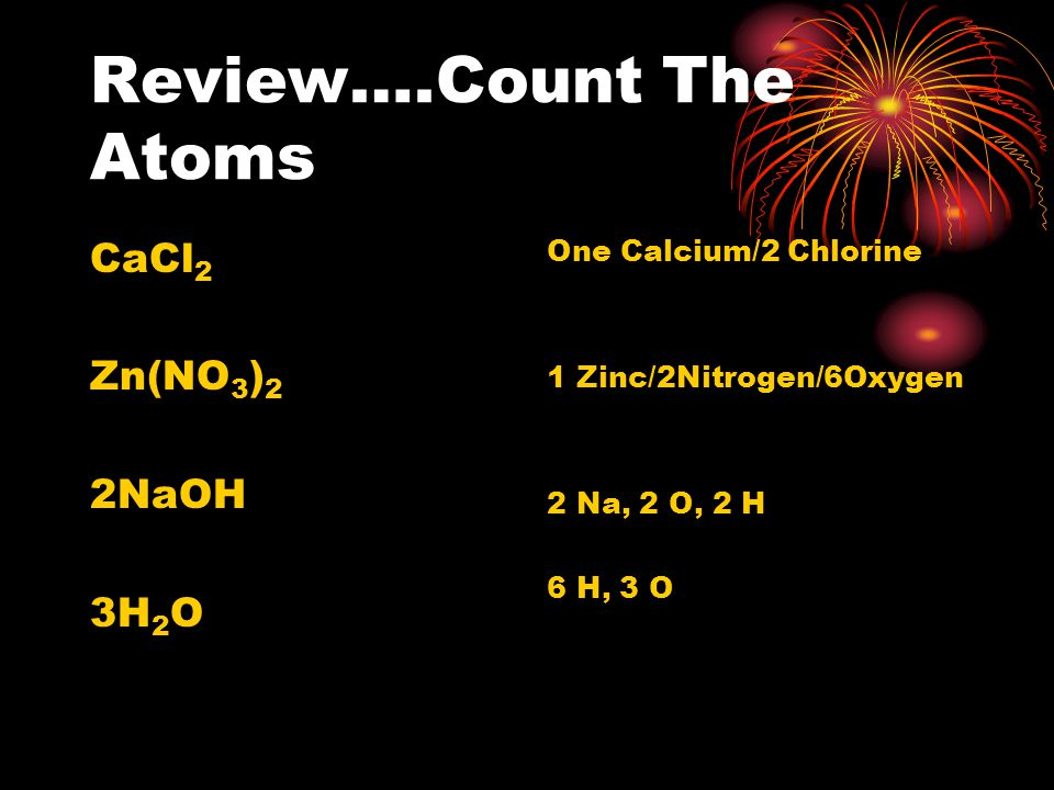 Chemical Reactions Chapter 7