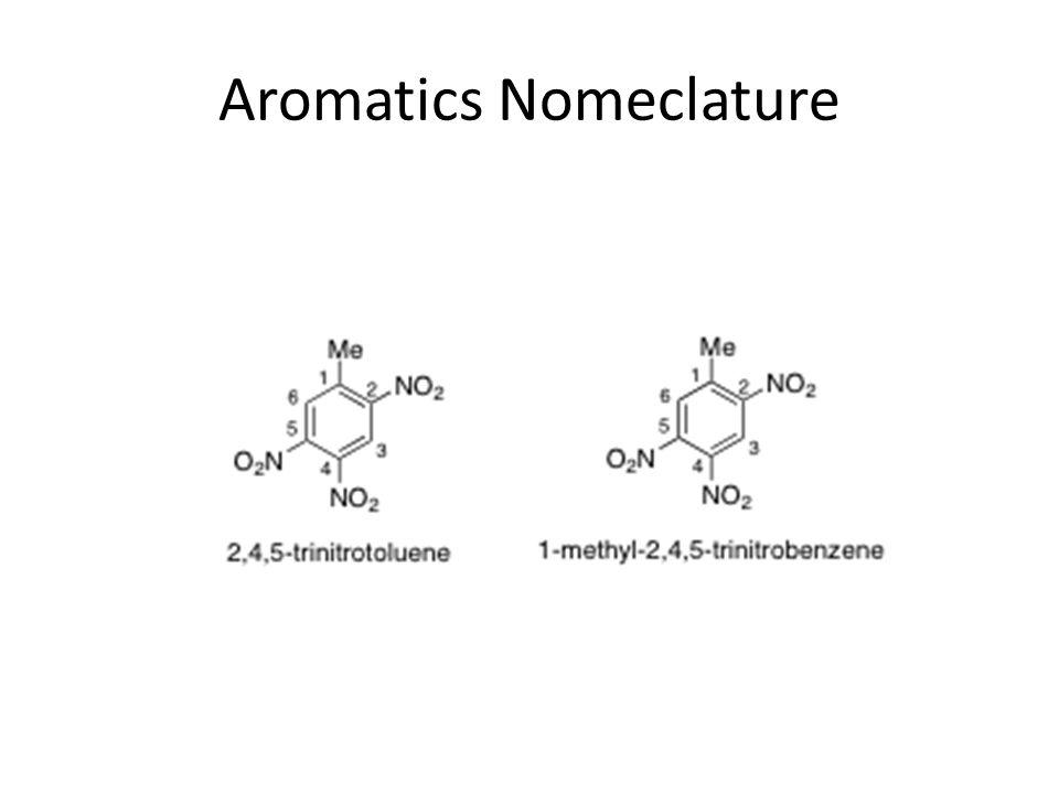 Aromatics Nomeclature