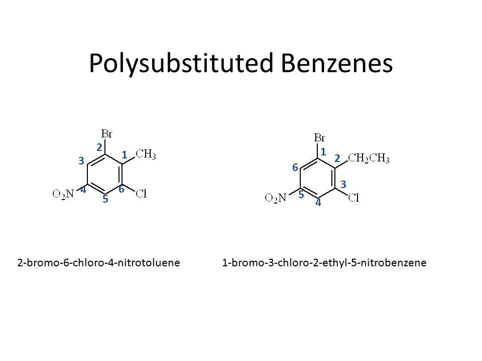1 3 4 5 6 6 5 4 3 2 2 1 2-bromo-6-chloro-4-nitrotoluene1-bromo-3-chloro-2-ethyl-5-nitrobenzene