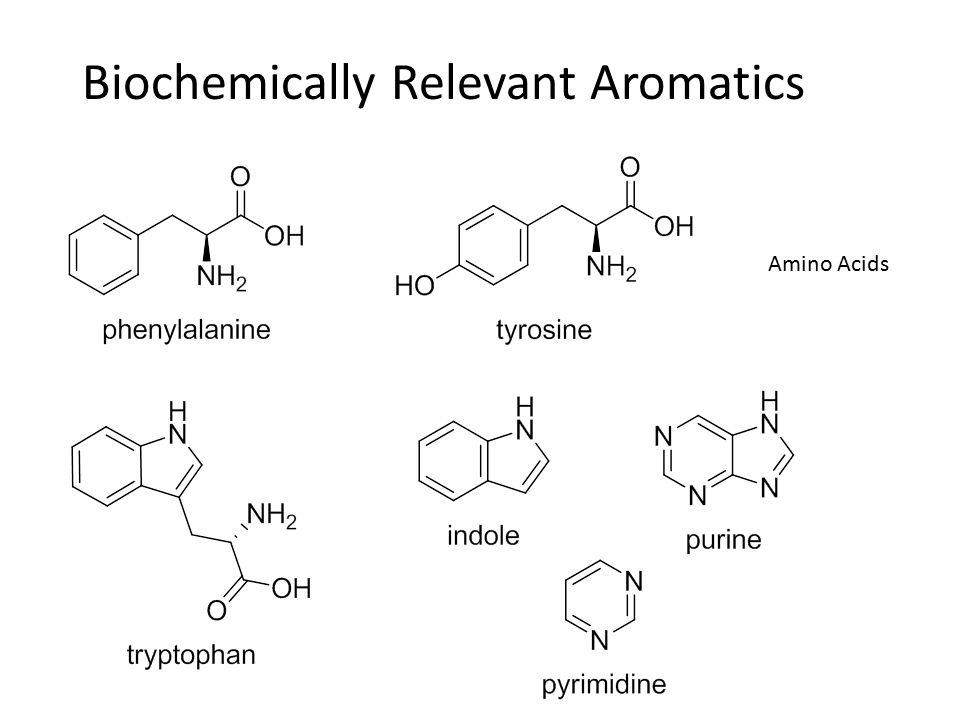 Biochemically Relevant Aromatics Amino Acids