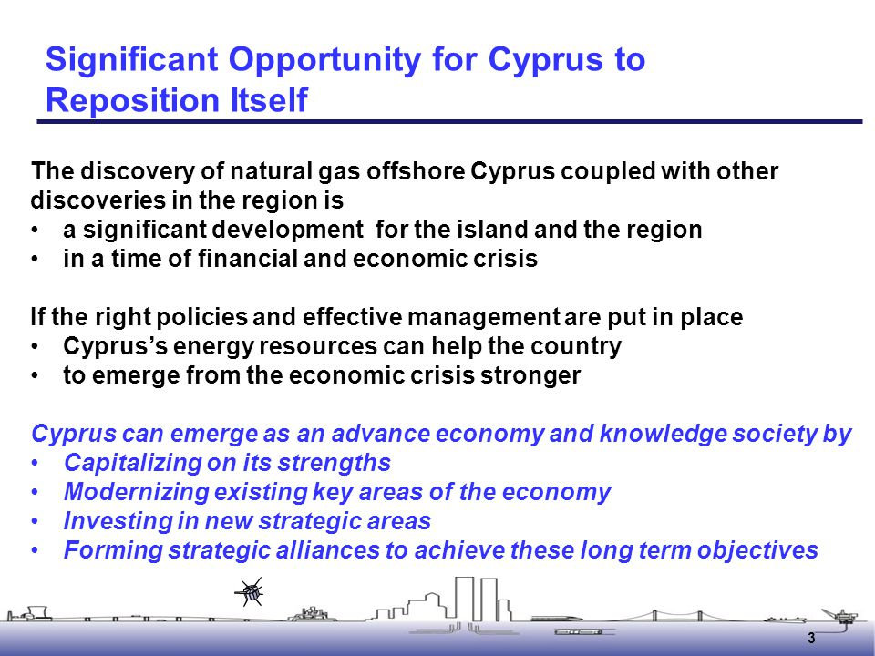 14 Building new strategic areas Build new strategic areas such as Education and training Research and technology development Establishing Cyprus as an education, training, research and technology development center for the region 14 Research and Technology Development