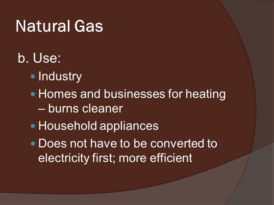 Natural Gas b.
