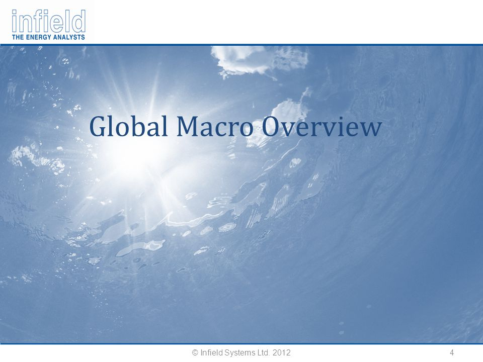 4 Global Macro Overview © Infield Systems Ltd. 2012