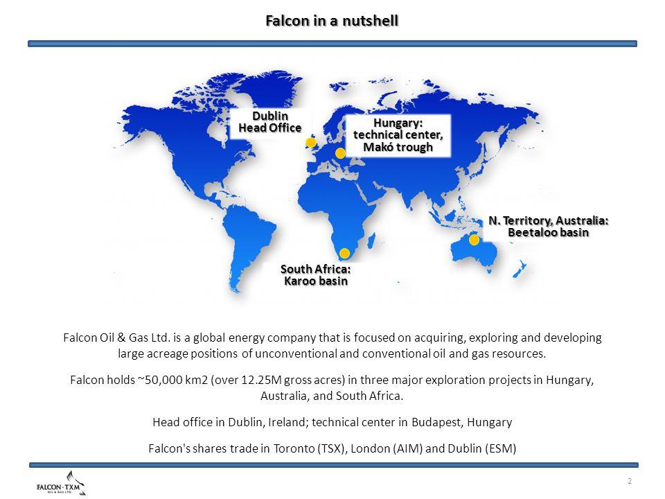 2 Falcon in a nutshell Falcon Oil & Gas Ltd.