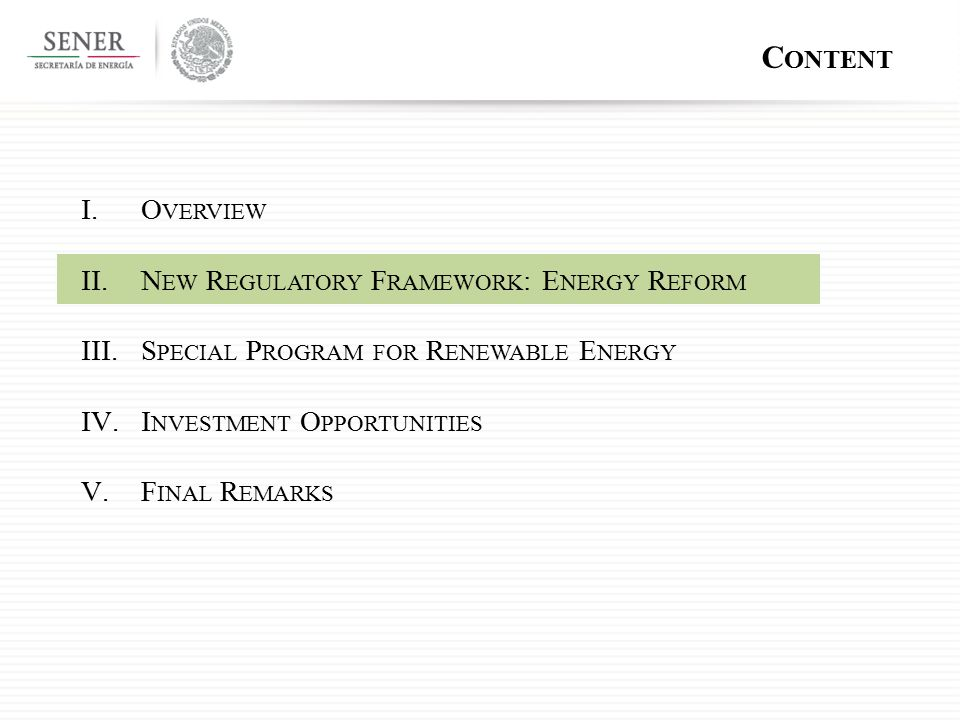 R ESEARCH, T ECHNOLOGICAL D EVELOPMENT AND T RAINING OF H UMAN R ESOURCES A PPLIED SCIENTIFIC AND TECHNOLOGY RESEARCH  E NERGY EFFICIENCY  R ENEWABLE ENERGY SOURCES  U SE OF CLEAN TECHNOLOGIES  D IVERSIFICATION OF PRIMARY ENERGY SOURCES  E XPLORATION AND EXPLOITATION  H YDROCARBONS REFINING  B ASIC PETROCHEMICALS PRODUCTION E NERGY TRANSITION FINANCING F UND FOR E NERGY T RANSITION  U SE AND APPLICATION OF CLEAN TECHNOLOGIES  E NERGY EFFICIENCY AND ENERGY SAVINGS  D IVERSIFICATION OF ENERGY SOURCES