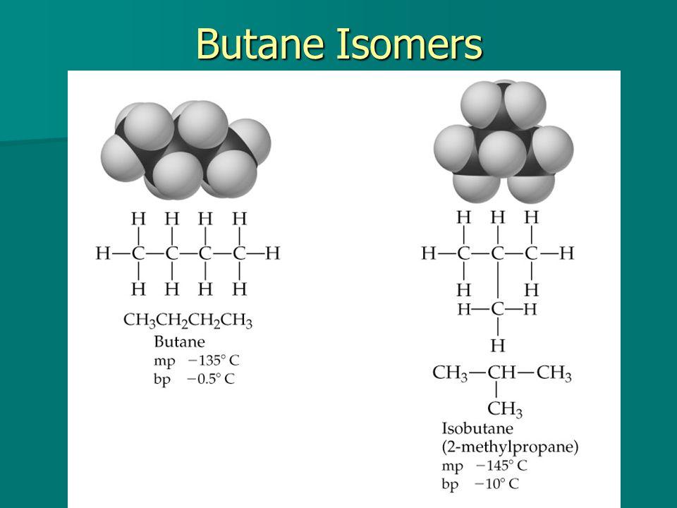 Butane Isomers