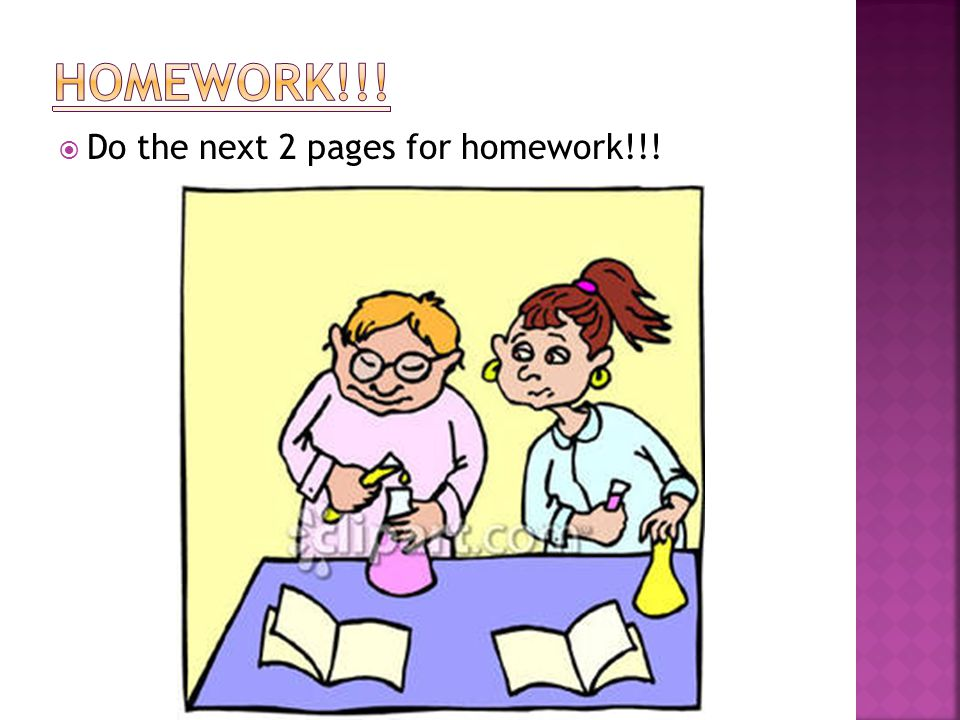  Do the next 2 pages for homework!!!