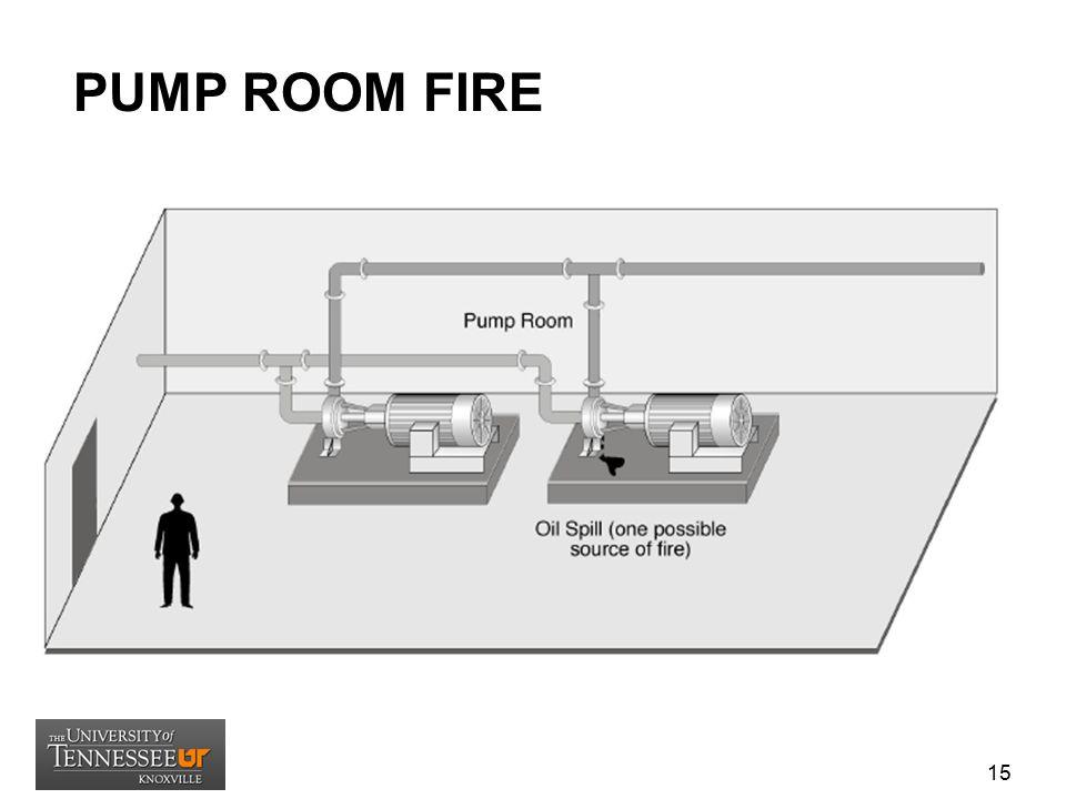 TURBINE BUILDING ROOM FIRE 16