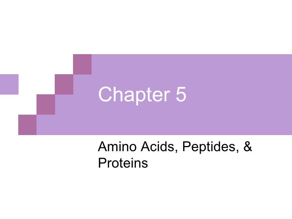 Section 5.1: Amino Acids  Proteins are molecular tools  They are a diverse and complex group of macromolecules Figure 5.1 Protein Diversity