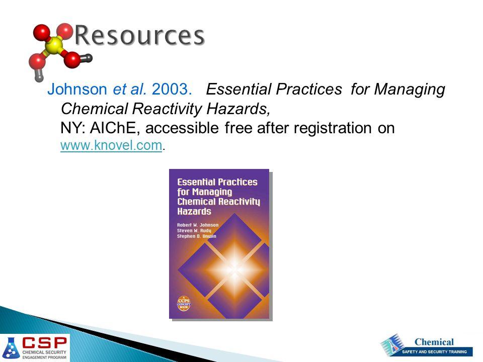 Johnson et al. 2003.