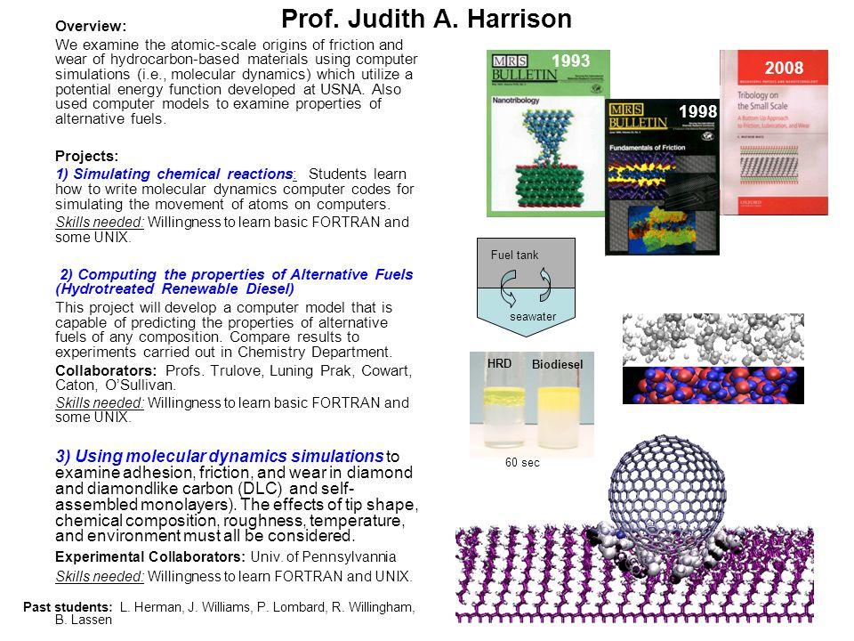 Prof. Judith A.