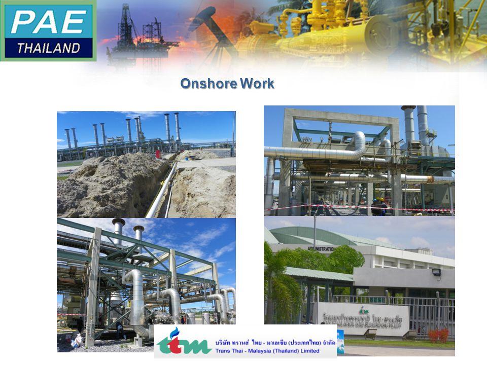 Onshore Work
