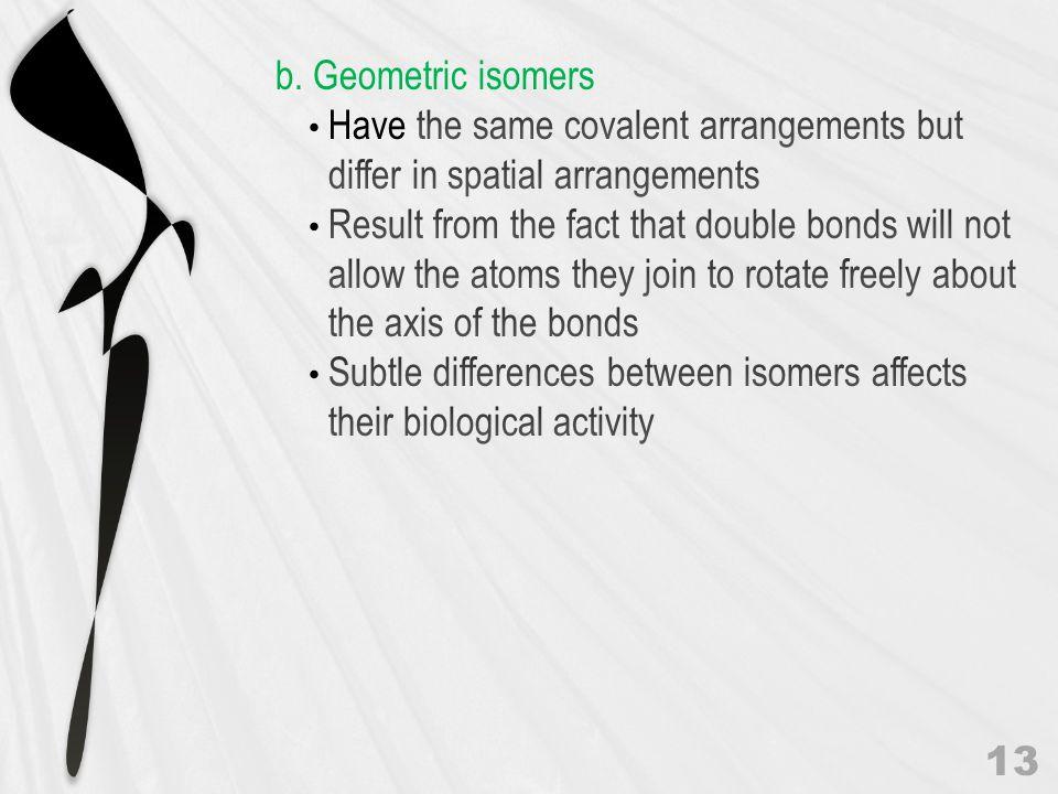 Geometric Isomers 14