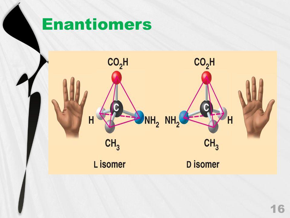 Enantiomers 16