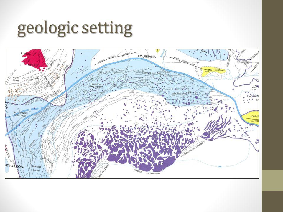 geologic setting