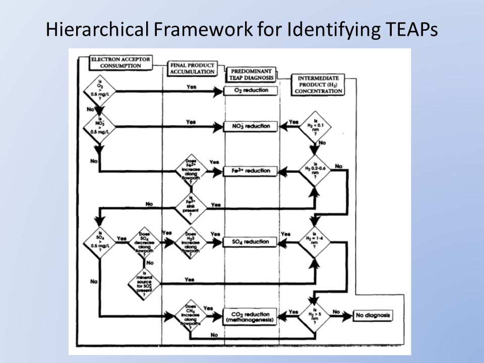 Hierarchical Framework for Identifying TEAPs