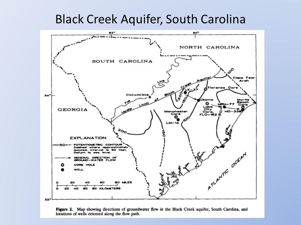 Black Creek Aquifer, South Carolina