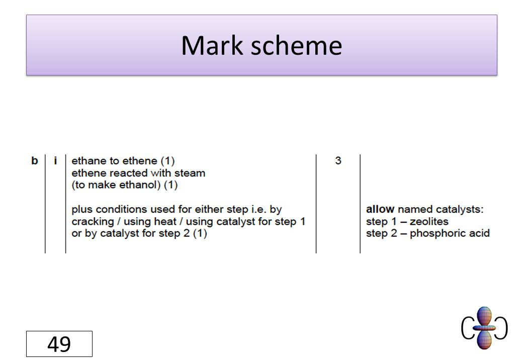 Mark scheme 49