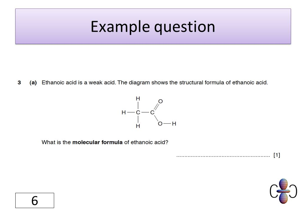 Example question 57