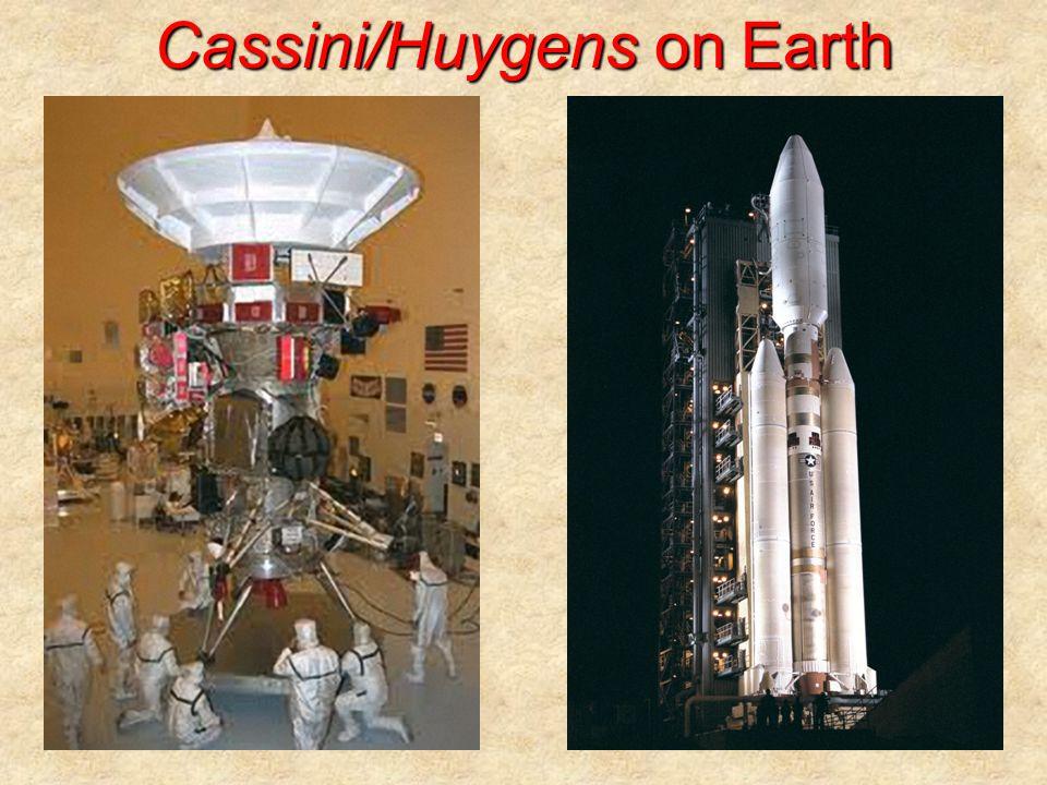 Cassini/Huygens on Earth