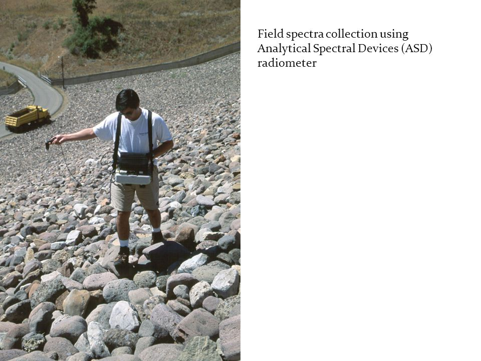 Field spectra collection using Analytical Spectral Devices (ASD) radiometer