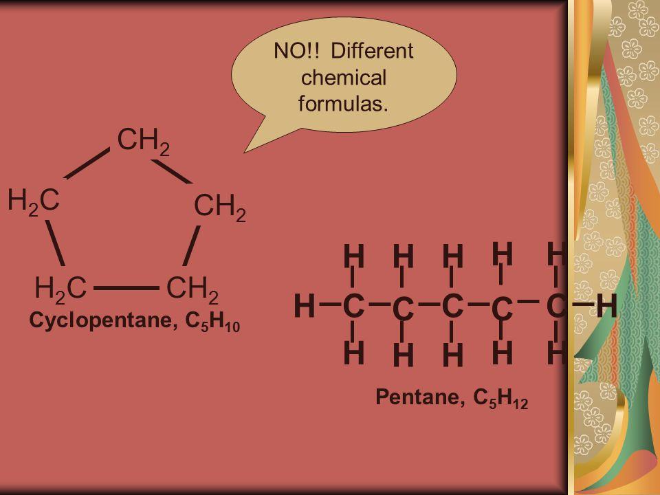 NO!. Different chemical formulas.