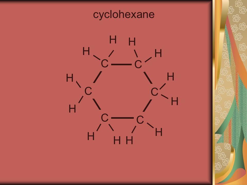 cyclohexane C C C C C C H H H H H H H H H H H H