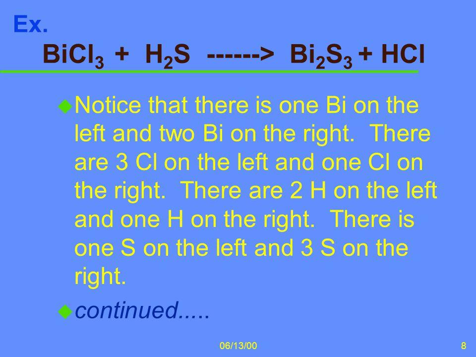 06/13/0029 H 3 PO 4 + 3 NaOH ----> Na 3 PO 4 + 3HOH continued...