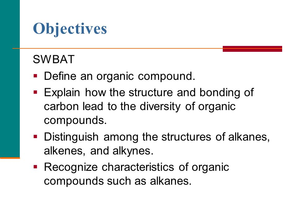 2 Introduction to Organic Chemistry Organic Compounds