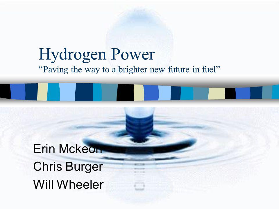 Hydrogen Initiative in the U.S.