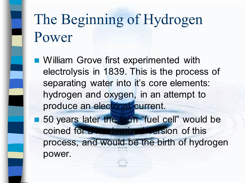 Fuel Cell Basics Fuel Cells use hydrogen with oxygen from air to produce electricity.