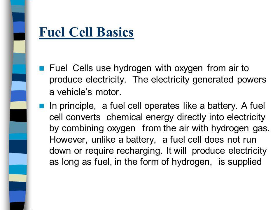 Modern Fuel Cell Structure http://www.utcfuelcel ls.com/fuelcells/inde x.shtm http://www.utcfuelcel ls.com/fuelcells/inde x.shtm