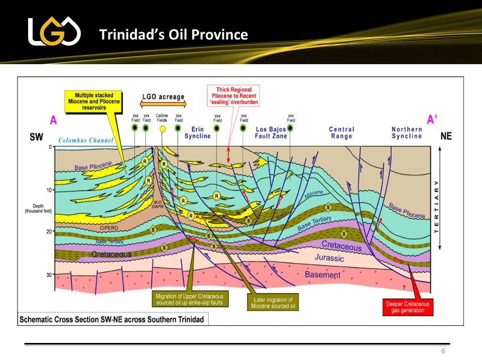 6 Trinidad's Oil Province