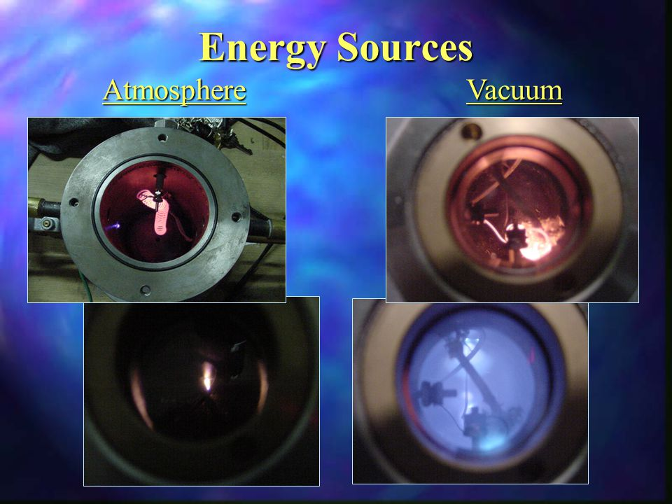 Energy Sources AtmosphereVacuum