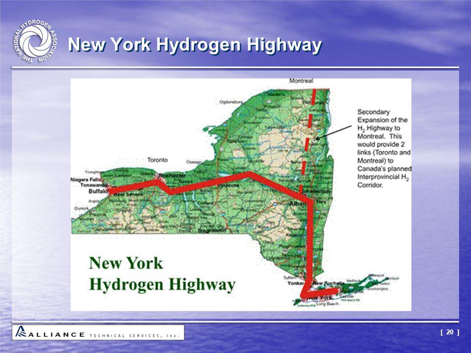 [ 20 ] New York Hydrogen Highway