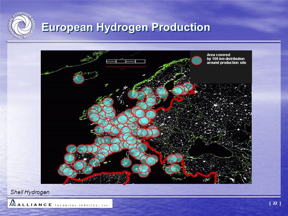[ 22 ] European Hydrogen Production Shell Hydrogen