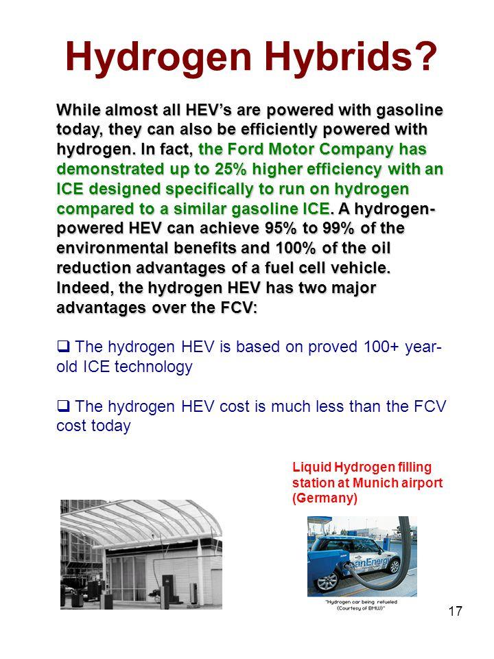 17 Hydrogen Hybrids.
